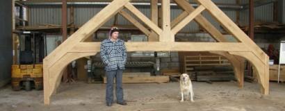 Large Oak Roof Trusses