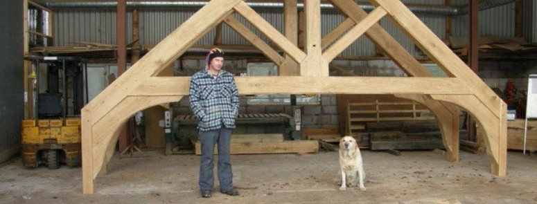Large Oak Roof Trusses