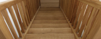 Oak Stair Case