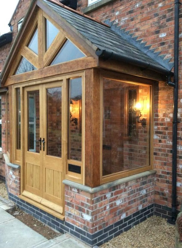 Oak Porches Collection 187 Wynnstay Joinery